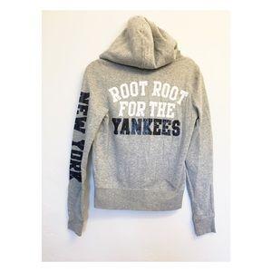 PINK Victoria Secret NY Yankees Hoodie